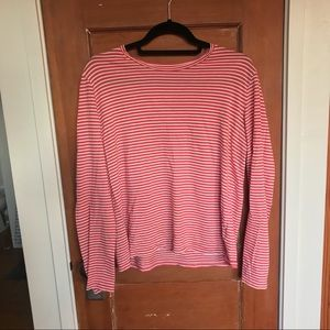 Everlane Long Sleeved Striped Tee
